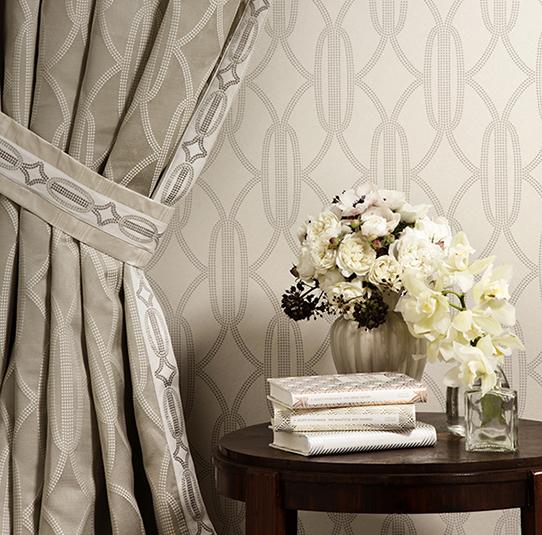 Art Deco Style Wallpaper And Fabric Romanez